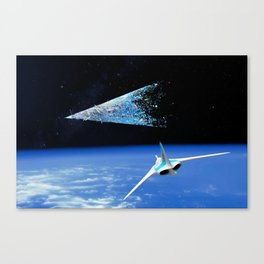 Space Vegas 1 Canvas Print