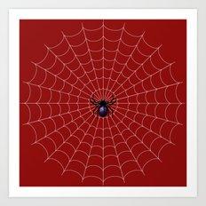 Spiderman Bite Art Print