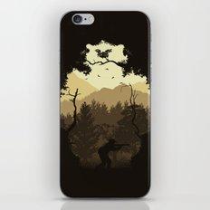 Hunting Season - Brown iPhone & iPod Skin
