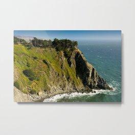 Ragged Point, Cabrillo Hwy, California Coastline Metal Print