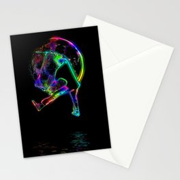 Scoot the Moon - Scooter Boy Stationery Cards