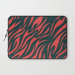 Distressed Tiger Pattern Laptop Sleeve