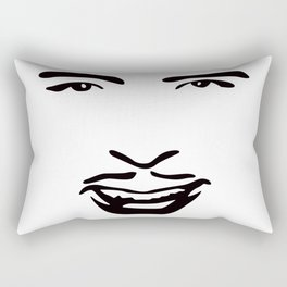 Silent Stars - Douglas Fairbanks Rectangular Pillow