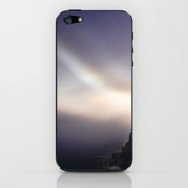 Otter Cliffs at Night iPhone Skin