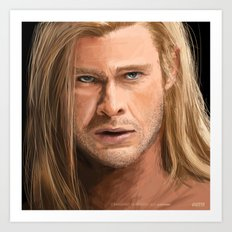 Thor...Avengers....Marvel Art Print