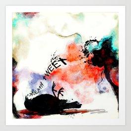 The Tweet Hereafter Art Print