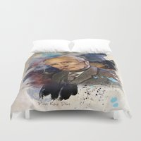 tolkien Duvet Covers featuring J.R.R. Tolkien by Philipe Kling