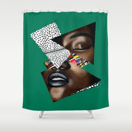 GLIY (Gold Lives Inside You) Shower Curtain