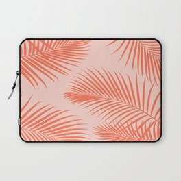 Coral Palms ~ Summer Tropical Pattern Laptop Sleeve