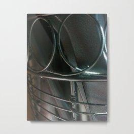 Metal Loops Metal Print