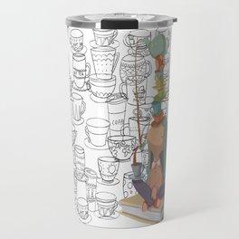 el equilibrio de las tazas Travel Mug
