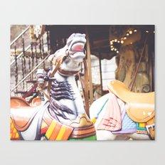 Wild horse race Canvas Print