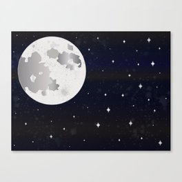 GIVE ME SOME SPACE Canvas Print