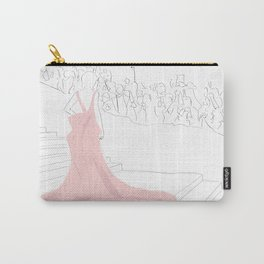 Pink Gown Oscar Red Carpet Hollywood Carry-All Pouch