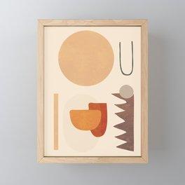 Modern Art Framed Mini Art Print