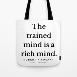 38 |  Robert Kiyosaki Quotes | 190824 Tote Bag