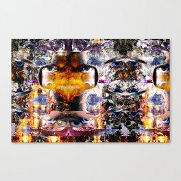IMGmix-B & SUNRise (REcut-LAptop) 19-08-2010 Canvas Print