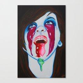 Clown Bukake Canvas Print