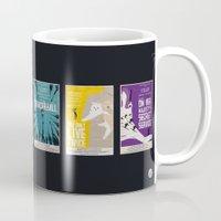 bond Mugs featuring Bond #1 by Alain Bossuyt