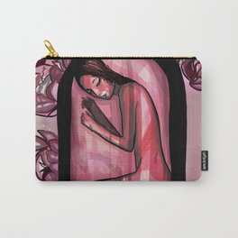 Rosé Carry-All Pouch