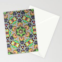 Natural Pattern No 2 Stationery Cards