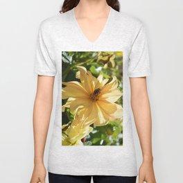 Pollination Unisex V-Neck