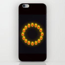 Burnin' Ring-O-Fire iPhone Skin