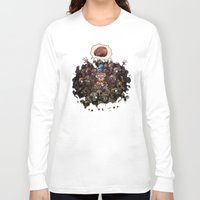 oz Long Sleeve T-shirts featuring More BRAINS for OZ by Carlos Rocafort