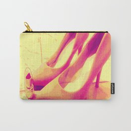 Pink Pumps - Favorite Things Carry-All Pouch