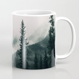 Over the Mountains and trough the Woods -  Forest Nature Photography Coffee Mug