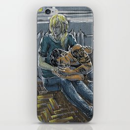 Altynai iPhone Skin