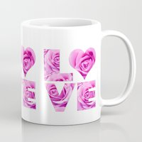 all you need is love Mugs featuring Love is all you need by LebensART