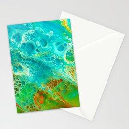orange twist Stationery Cards