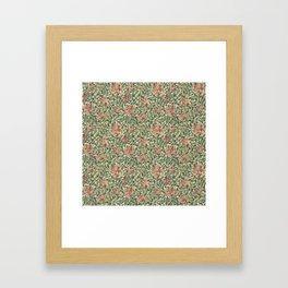 """William Morris """"Honeysuckle"""" 1. Framed Art Print"""