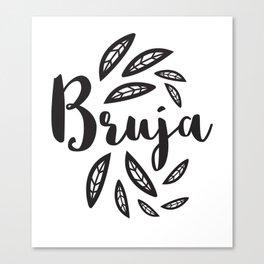 Bruja Canvas Print