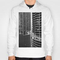 buildings Hoodies featuring Bertrand's Buildings by NickGerber