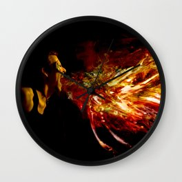 The Firebreather Wall Clock