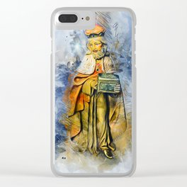Three Wise Men Clear iPhone Case