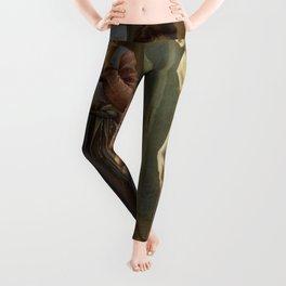 "Edward Burne-Jones ""Pygmalion and Galatea II: The Hand Refrains"" Leggings"