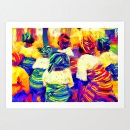 Igbeyawo [Traditional Wedding] Art Print