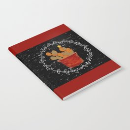 Merry Christmas Cactus Notebook