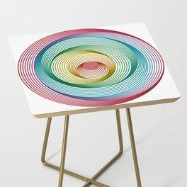 Shifting Circles Side Table