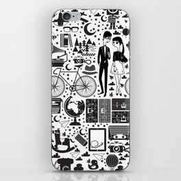 LIKES PATTERNS iPhone Skin