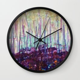 Candice Forrest Wall Clock