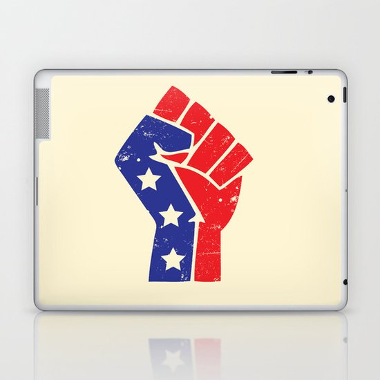 Revoltion Party Fist Laptop & iPad Skin