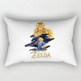 Zelda Breath of the Wild - The Silent Princess Rectangular Pillow