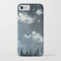 cloud iPhone & iPod Cases featuring The cloud stealers by HappyMelvin