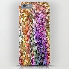Rainbow Mosaic iPhone 6 Plus Slim Case