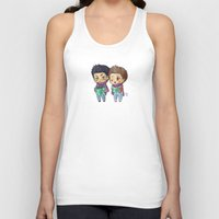 stiles Tank Tops featuring Caroling Derek&Stiles by MGNemesi