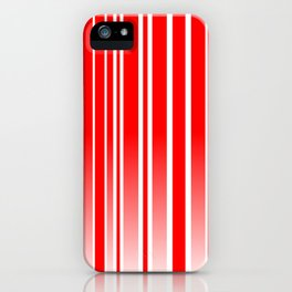 Red Track iPhone Case